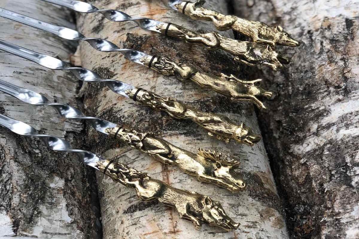 Шампуры Лесные звери 1